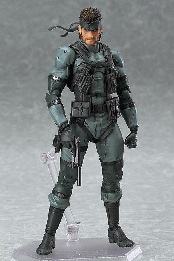 Figma 243 Solid Snake (Metal Gear Solid 2 Version)