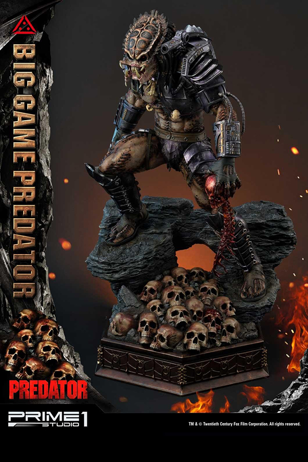Prime 1 Studio Big Game Predator 1 4 Statue Hypertoys