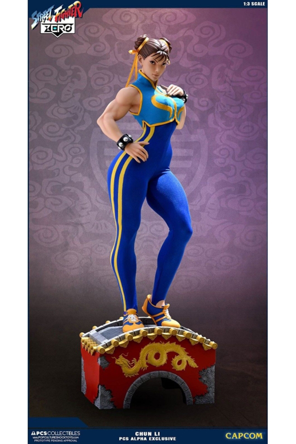 Pcs Collectibles Street Fighter Zero Chun Li Alpha 1 3 Statue Hypertoys