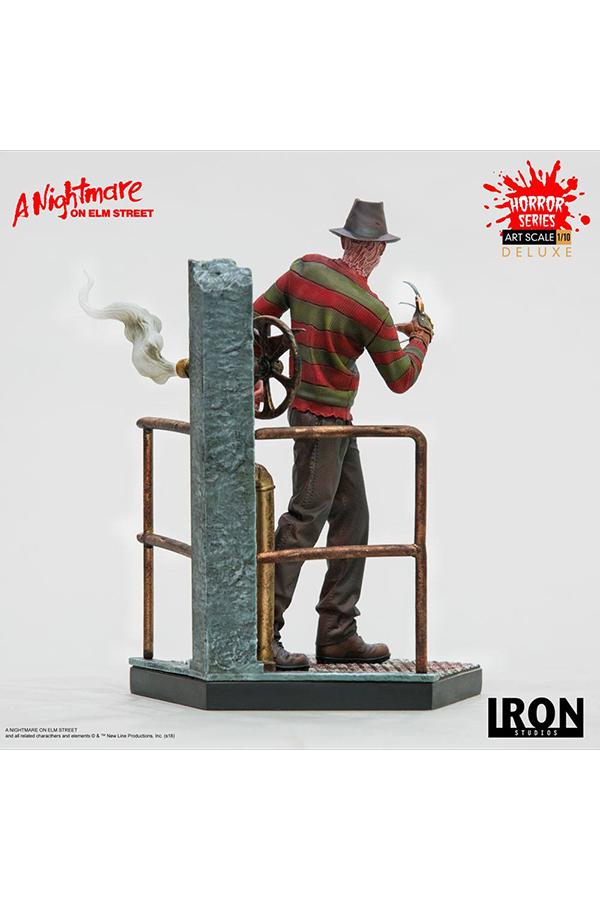 Nightmare on Elm Street Art Scale Statue 1 10 Freddy Krueger Deluxe 19 cm img 3