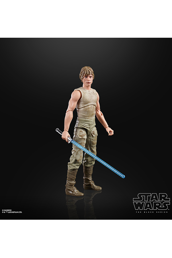 Black Series Dagobah Luke 4