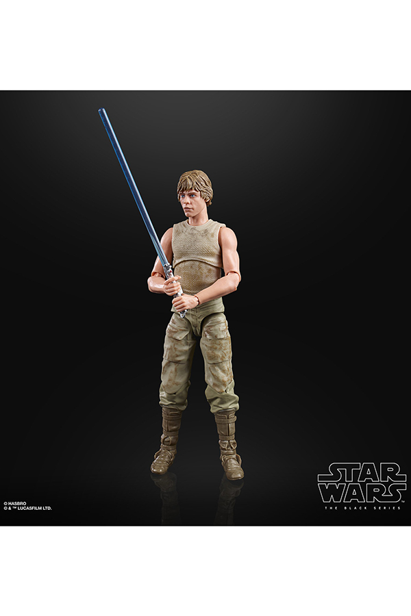 Black Series Dagobah Luke 5