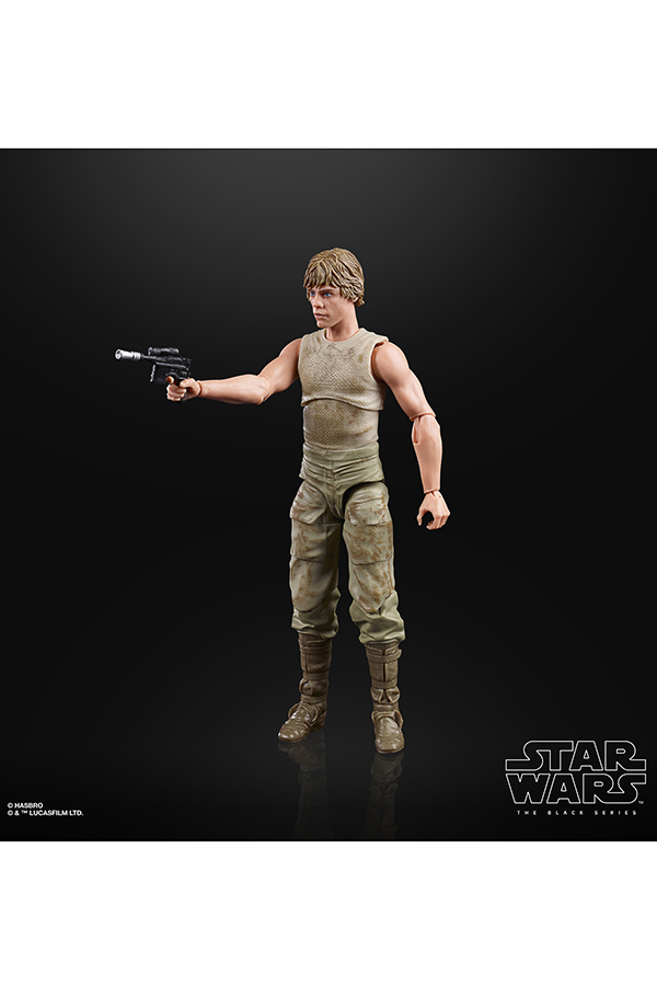Black Series Dagobah Luke 6